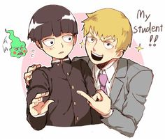 Mob Psycho 100 - Dimple, Shigeo and Reigen