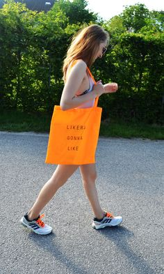 """Likers gonna like"" gunnysack by Laura Huber Reusable Tote Bags, Fashion, Moda, Fasion, Trendy Fashion, La Mode"