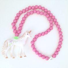 Unicorn Kids necklace by Pirates & Ponies.