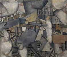 'Smoke over Rooftops', 1911. Léger