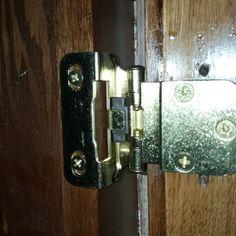 """3/8"""" Inset Hinges Inset Hinges, Kitchen Cabinets Door Hinges, Barrel, Door Handles, Doors, Door Knobs, Barrel Roll, Barrels, Door Knob"""