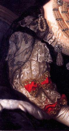 Luise Ulrike von Preussen, Queen of Sweden by Alexander Roslin, 1775 Classic Paintings, Old Paintings, Beautiful Paintings, Renaissance Paintings, Renaissance Art, Hieronymus Bosch, Classical Art, Detail Art, Historical Costume
