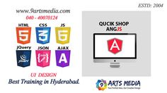 Best raining institute in hyderabad for html, css, ajax, jquery, Js