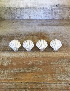 Rustic Cast Iron Seashell Shell Knob   Decorative Dresser Drawer Pull    Distressed White Or Aqua Or Iron Nautical Sea Ocean Beach Home Decor |  Pinterest ...