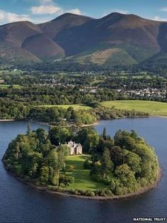 Derwent Island House and whole island for rent ~ UK