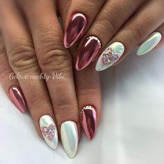 Manicures, Gel Nails, Hello Kitty Wallpaper, Fabulous Nails, Almond Nails, Nails Design, Nailart, Finger, Babe