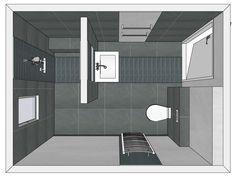 Leuk idee voor de indeling van onze badkamer! | Badkamer | Pinterest ...