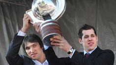 Malkin and Ovechkin. My favorite Russian and my least favorite Russian.