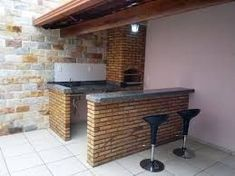 Ideas For Kitchen Red Brick House Outdoor Kitchen Design, Home Hacks, Interior Design Living Room, My House, House Plans, Sweet Home, New Homes, Backyard, House Design
