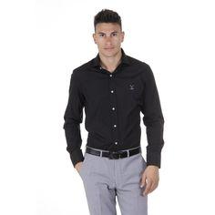 Black 40 IT - 15¾ US Versace 19.69 Abbigliamento Sportivo Srl Milano Italia Classic Shirt 307 VAR. 87