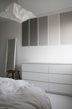 FIVE SHADES OF GREY Scandinavian Home, Shades Of Grey, Beautiful Homes, Wall Decor, Interior Design, Inspiration, Furniture, Bedrooms, Home Decor