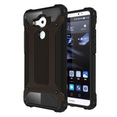 [$1.56] Huawei Mate 8 Tough Armor TPU + PC Combination Case(Black)