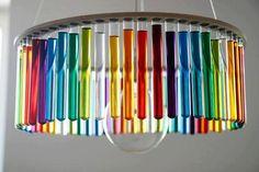 Reciclagem: luminárias   Um Brinco