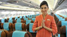 Garuda Indonesia Airlines cabin crew