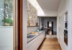 A light filled galley kitchen - desire to inspire - desiretoinspire.net