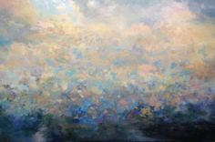 Coast, oil painting by Christopher Volpe 40x60 inches