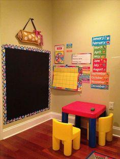 Pre-k at home. Pre-k at home. Pre-k at home. Preschool Prep, Preschool Rooms, Preschool At Home, Preschool Classroom, Home Daycare Rooms, Preschool Learning Activities, Preschool Curriculum, Preschool Lessons, Home Learning