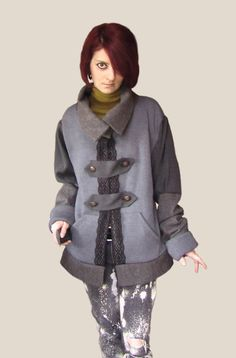 Omphale  Recycled Jacket by Hyena on Etsy, $180.00