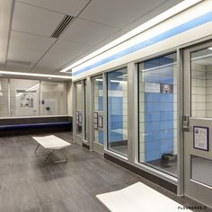 """Project carried out by Hinojosa Architecture for the SPCA's """"JAN REES-JONES ANIMAL CARE CENTER"""" of Dallas (U.S.).      6503 m2 of fine porcelain stoneware from the series Chromtech 1.0 were used for the construction. Thanks to its technical characteristics, this product represents the ideal solution for those spaces where hygiene, durability and strength are essential elements of choice for the design itself, while maintaining a refined and innovative aesthetic line.    CHAD M DAVIS…"""