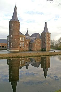 Hoensbroek Castle: We lived in Hoensbroek and visited the castle on Christmas Day 1984, a week before Jeff was born.
