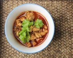 Curry rouge thaï de poulet