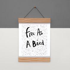 Image of Free as a Bird Archival Art Print Bird, Art Prints, Free, Image, Home Decor, Art Impressions, Decoration Home, Room Decor, Birds