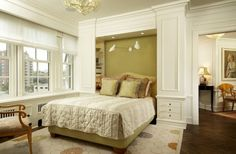 hmmm...interesting storage - Minneapolis Residence - contemporary - bedroom - minneapolis - Gunkelmans Interior Design