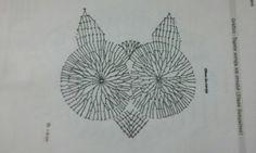 Crochê Gráfico: Jogo de banheiro coruja em crochê