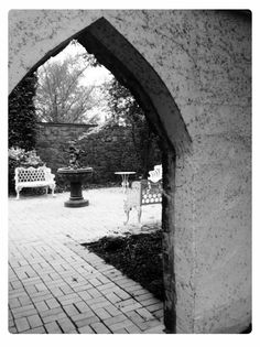 Arch and Bench at Precious Moments