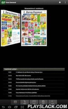 Turun Sanomat  Android App - playslack.com , Lue uutiset läheltä ja kaukaa Turun Sanomien näköislehden Android-sovelluksesta! Lataa ilmainen TS-sovellus Android-laitteeseesi ja saat luettua uutiset milloin ja missä tahansa. Lehden tuorein numero ilmestyy päivittäin heti aamusta. Turun Sanomat tarjoaa päivän lehden sisällön helposti luettavassa ja selailtavassa muodossa. Tutustu Turun Sanomien näköislehteen ja löydä itsellesi mieluisin tapa lukea lehteä!Uusimman lehden voit ostaa suoraan…