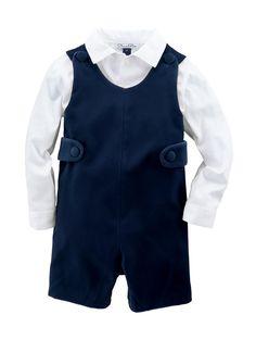 Bébé garçons MAGNIFIQUE espagnol Romany Bleu /& Gris Tricot POM POM Combinaison