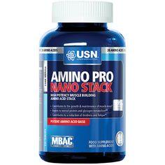 USN Amino Pro Nano-Stack | Amino Acids / BCAAs – The UK's Number 1 Sports Nutrition Distributor | Shop by Category – The UK's Number 1 Sports Nutrition Distributor | Tropicana Wholesale