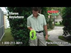 Pocket hose. Seriously? ...I saw this on tv and laughed till I cried. Then I looked it up on youtube and laughed till I cried again. Blatant double entendres, good times. Good times. :'D