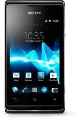 Easy Does It The Xperia E Dual is expertly created for simplicity with dual SIMs. 115.7 grams 4.08 ounces 3.5 inch TFT touchscreen 262.000 colors / 320 x 480 pixels Talk time (up to): 6.3 hours* Standby time (up to): 530 hours* * Values are according to GSM Association Battery Life Measurement Technique. Battery performance
