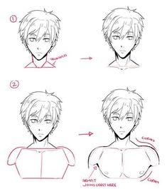 Manga Drawing Tips Drawing Poses, Drawing Tips, Drawing Sketches, Art Drawings, Manga Drawing Tutorials, Pencil Drawings, Drawing Ideas, Sketching, Art Reference Poses