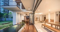 """A Tour Of The Amazing """"Lobster House"""" By Puchong Satirapipatkul Tropical Architecture, Interior Architecture, Interior Design, Lobster House, Thai House, Loft House, Architect House, Minimalist Decor, Beautiful Gardens"""