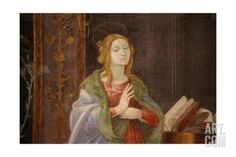 The Virgin Mary at the Annunciation Giclee Print at Art.com