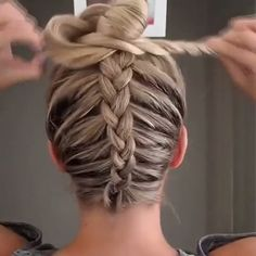 37 Cute French Braid Hairstyles for 2019 - Style My Hairs French Braid Hairstyles, Dance Hairstyles, Box Braids Hairstyles, Cool Hairstyles, Plats Hairstyles, Workout Hairstyles, Natural Hairstyles, Hairstyle Ideas, Volleyball Hairstyles