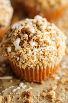 Coffee Cake Muffins #desserts #dessertrecipes #yummy #delicious #food #sweet