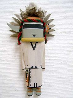 Old Style Hopi Carved Orion Traditional Soyal Katsina Doll