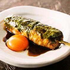 Okayama|岡山(おかやま)|Restaurant|かまどか 岡山店|名物つくね<月見>