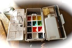 travel watercolor set Kure Take Co. Japan