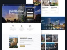 Website for Real Estate Investment Company by Magdalena Ciborowska Real Estate Investment Companies, Real Estate Investing, Investment Property, Real Estate Website Templates, Corporate Website, Web Design, Website Ideas, Life, Real Estate Investment Firms