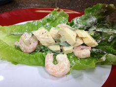 Shrimp and Mango Lettuce Wraps, 10/7/13