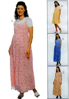 Summer Maternity Dress or Jumper McCalls by FindCraftyPatterns, $8.00