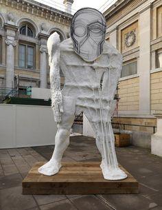 thomas houseago, sculpture