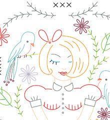 Neat embroidery patterns - PDF's & Iron-on Transfers