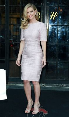 Alice Eve in Dolce & Gabbana