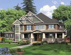 1000 Images About Craftsman House Plans On Pinterest