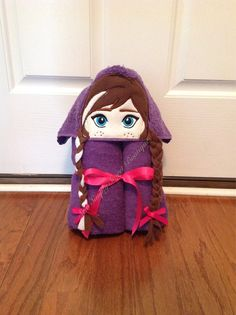 Princess Anna Frozen inspired Hooded Bath Towel by sewsimplysweet, $30.00